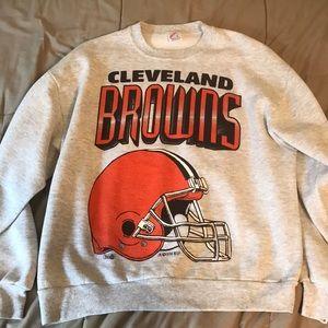 VINTAGE 1994 Cleveland Browns Sweatshirt (Large)